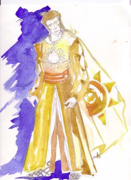 Costume prêtre d Apollon Prix locatif   70 euros TTC 73eea046c17